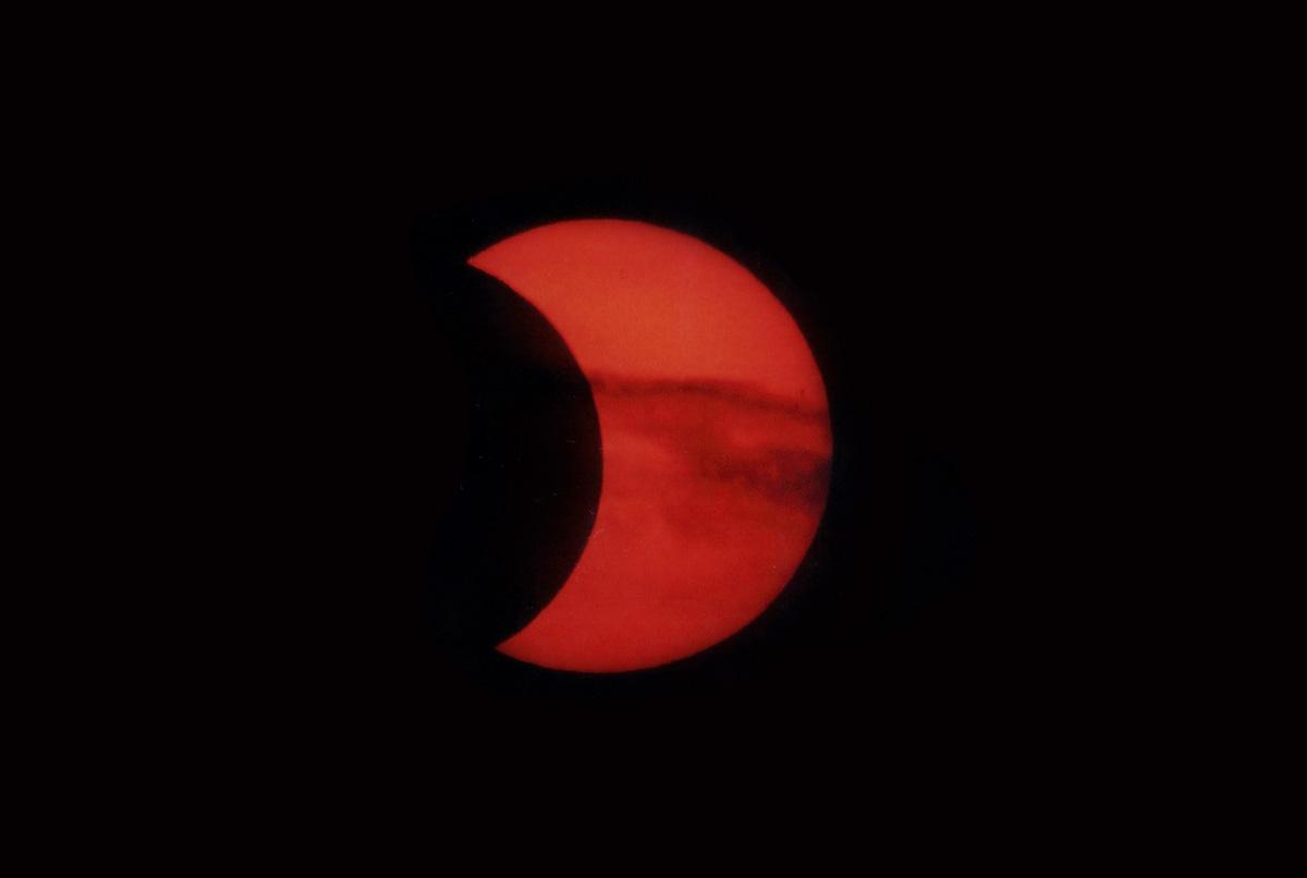 31. Mai 2003: partielle Sonnenfinsternis