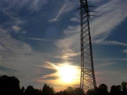 Sonnenuntergang 29.September 2011 Kaufering