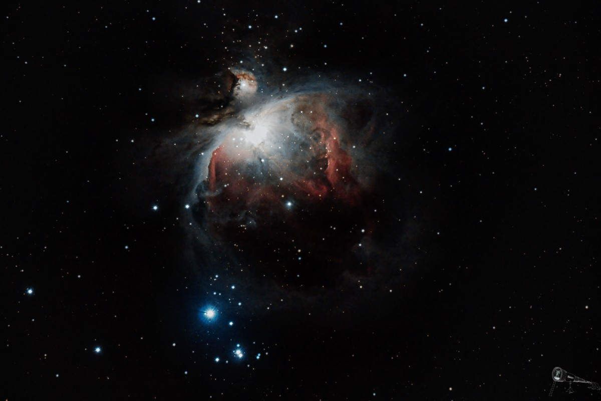 M42: Orion Nebel - SingleShot