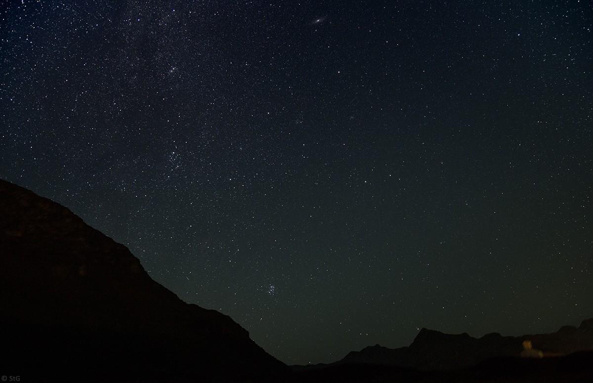 Kurz vor Sonnenaufgang: Perseus, Andromeda & Co.