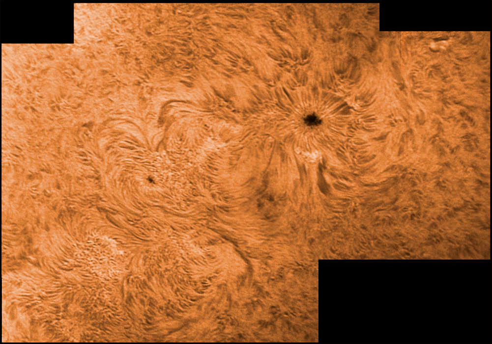 28. März 2012 h-alpha AR 1445