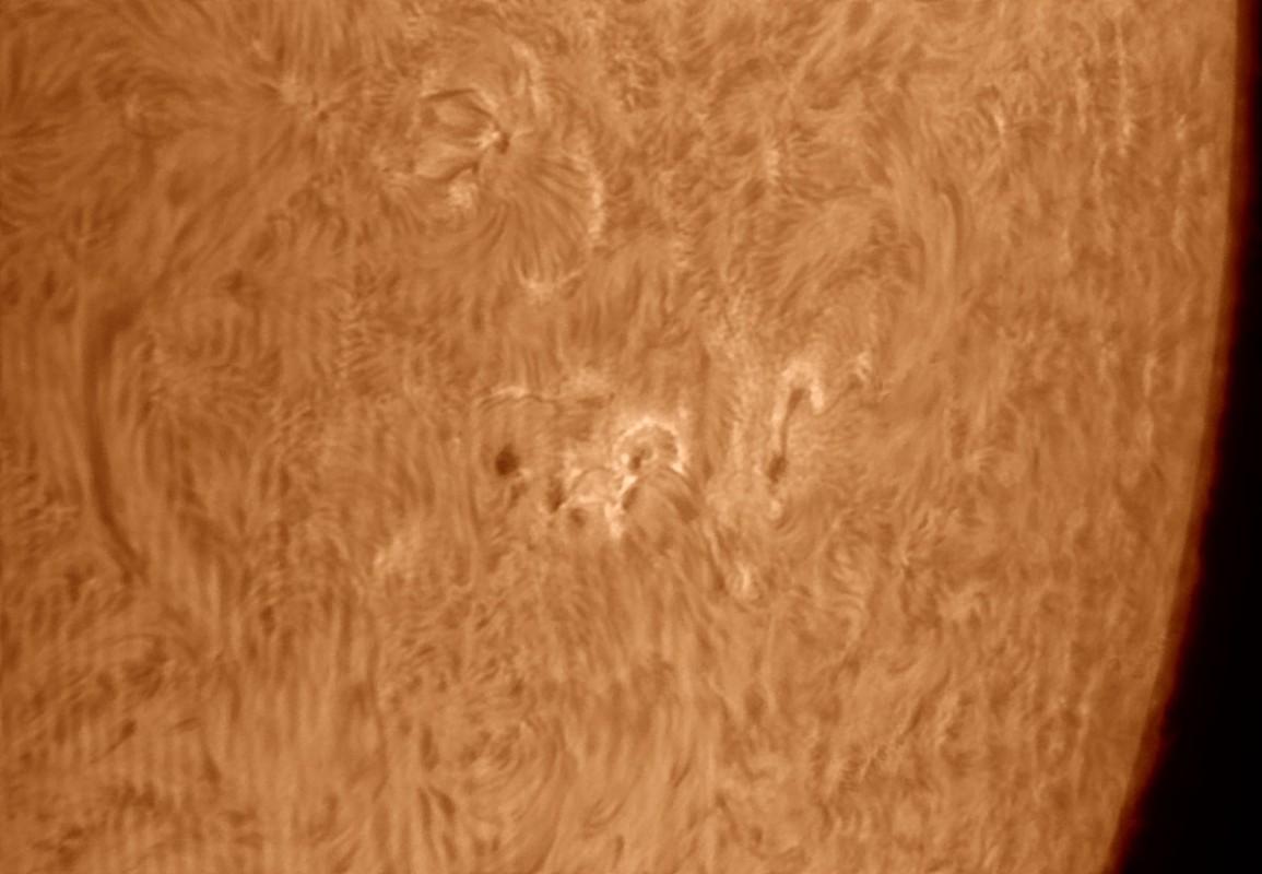 5. Mai 2013: Sonne AR 1738 /39