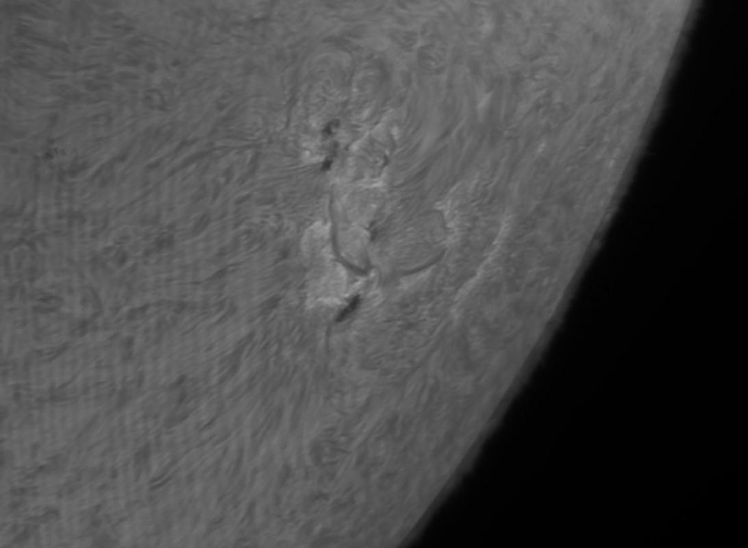 15. Mai 2013: Sonne AR1745 in h-alpha