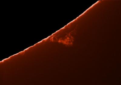 7. September 2012 Protuberanzen