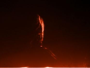 7. September 2012 Eruptove Protuberanz -Detail