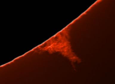 31. Oktober 2012: Protuberanzen