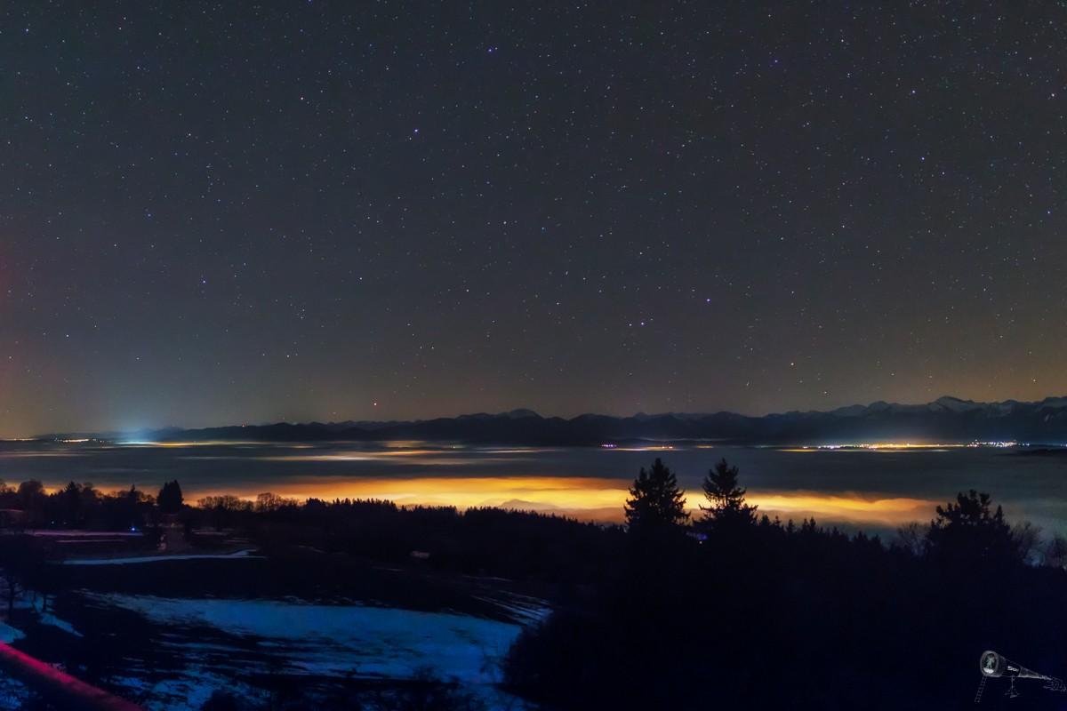 25.12.2017 Nebel und Sterne