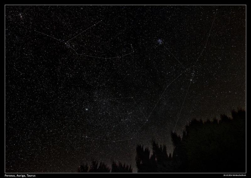Perseus, Stier & die Pleiaden