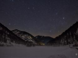 Sternenhimmel über dem Rißtal