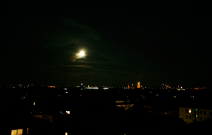 5. Juni 2012: Über den Dächern Münchens