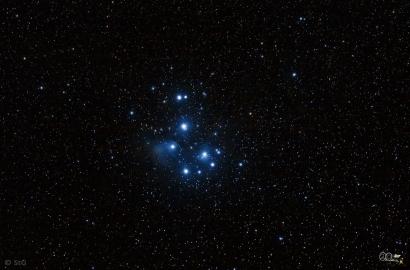 M45: Die Pleijaden