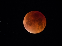 28. Septemer 2015: totale Mondfinsternis
