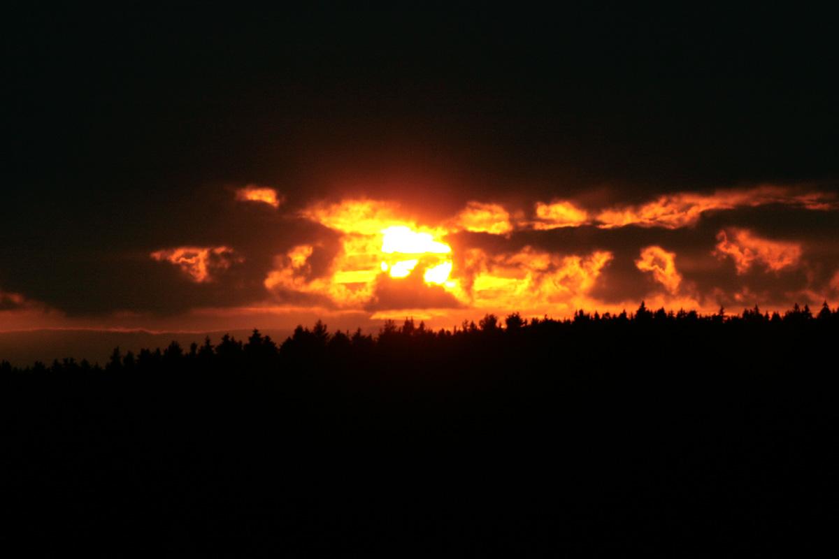 Wolkenbrand