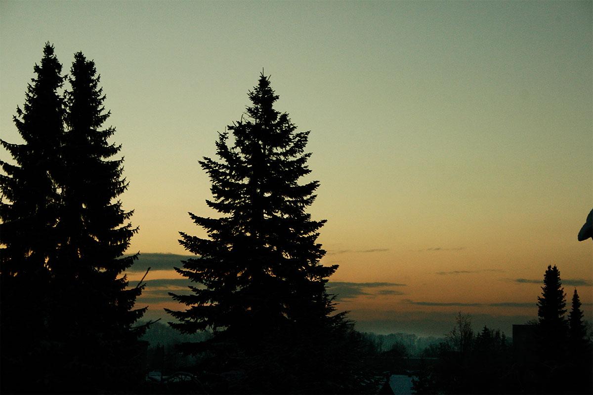 12.12.12 Sonnenaufgang in Kaufering