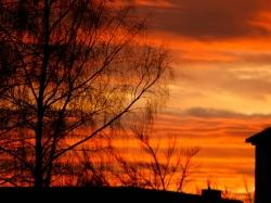 08.01.2013 Sonnenuntergang in Kaufering
