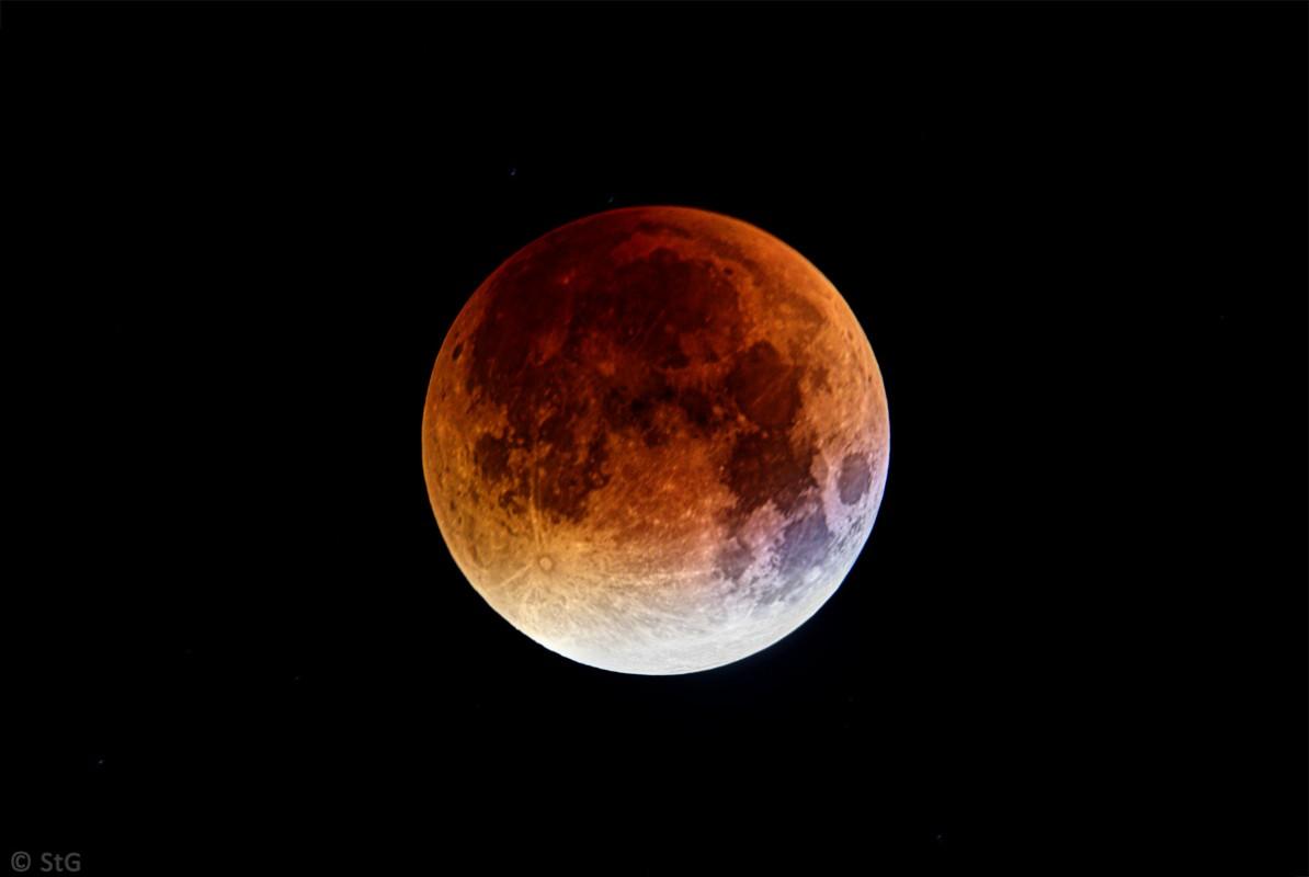 Mondfinsternis 28. September 2015