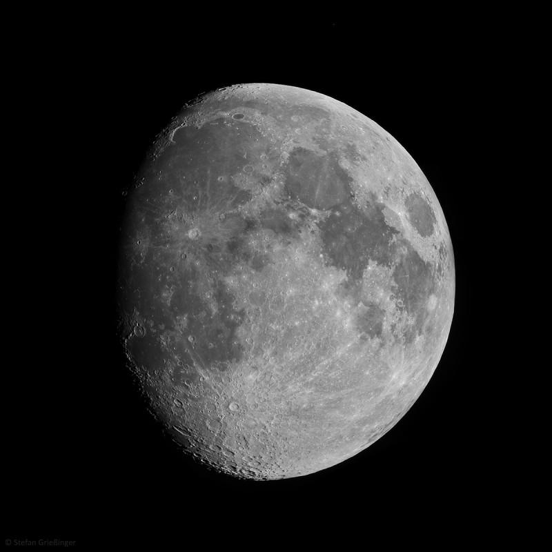 17. August 2013: Mond bei 86%