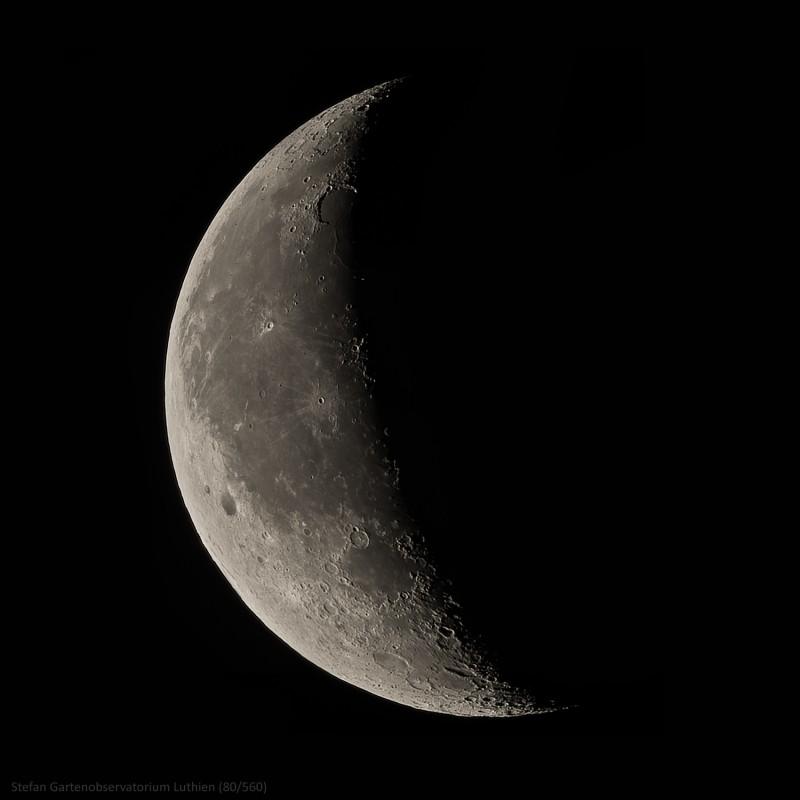 27. Dezember 2013: Mond bei 33,1%