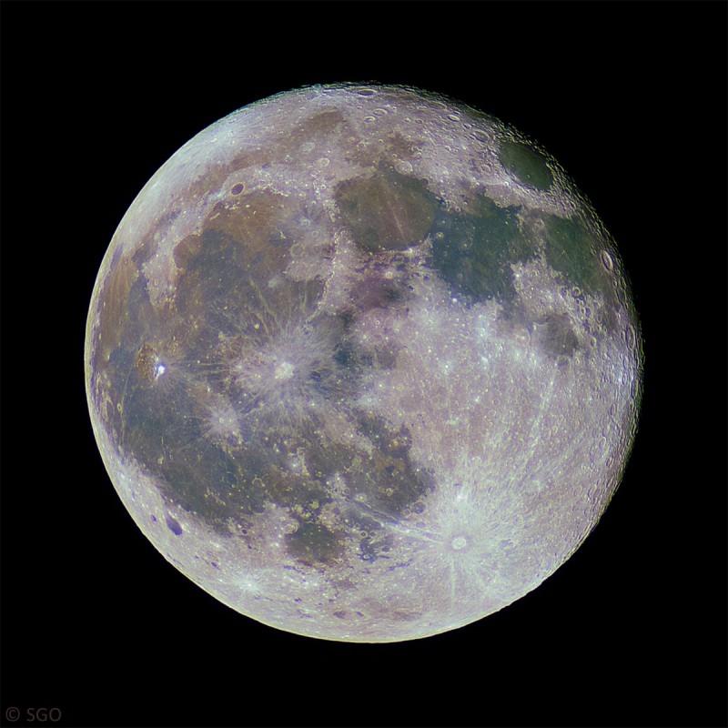18. März 2014: Mond bei 98,3%
