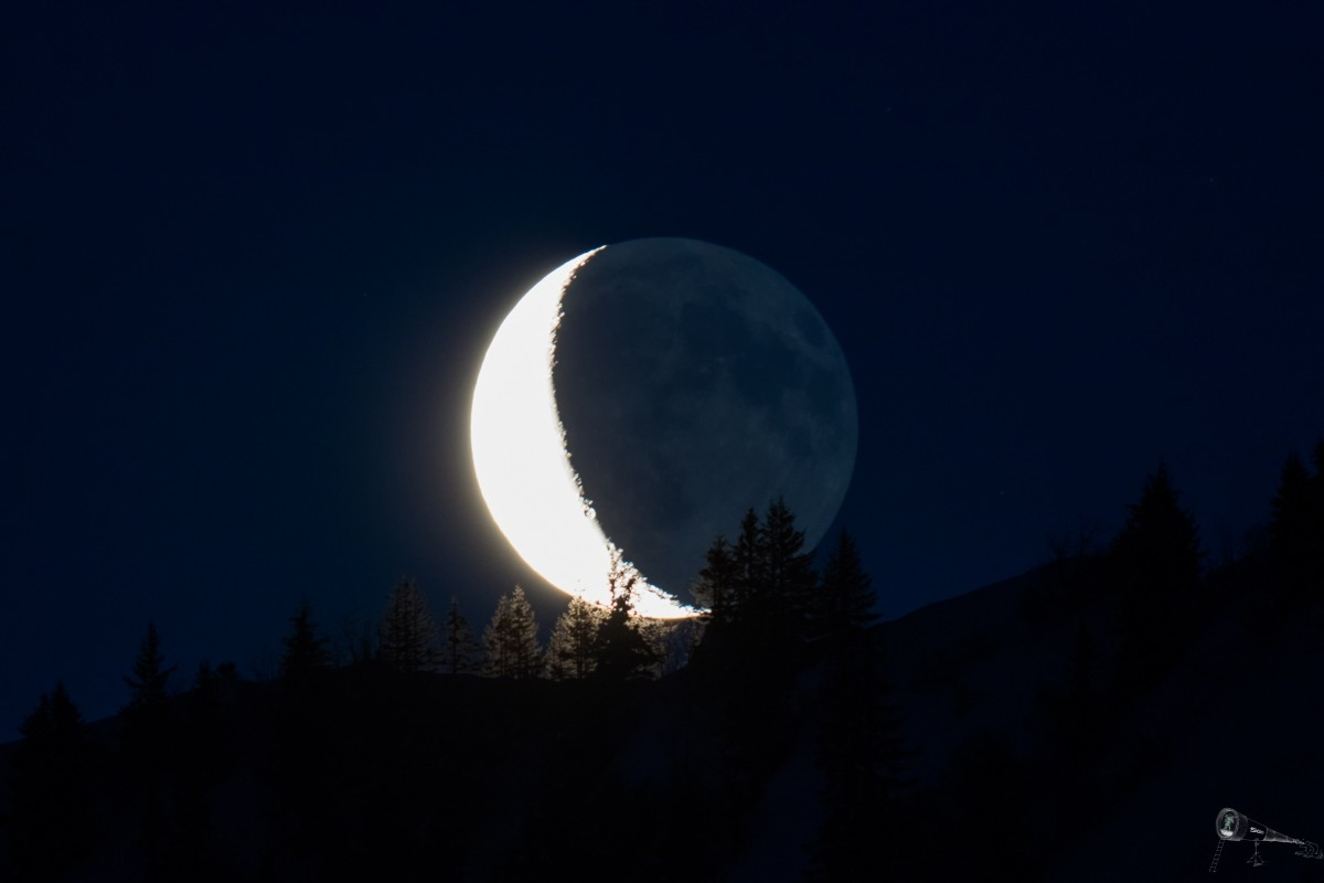 22. April 2017: Mondaufgang am Furkajoch