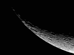 26. Februar 2012: Das Horn des jungen Mondes