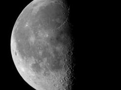 04. März 2013: abnehmender Mond bei 58,4 %