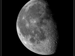 30. Januar 2016: abnehmender Mond (68%)