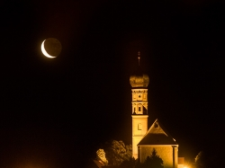 Mondaufgang über St. Johann