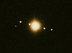 14. Juli 1997 Jupiter und seine Monde