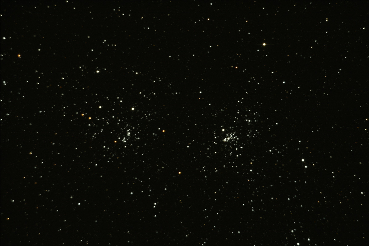 Perseus Doppel-Sternhaufen - 22.Oktober.2011