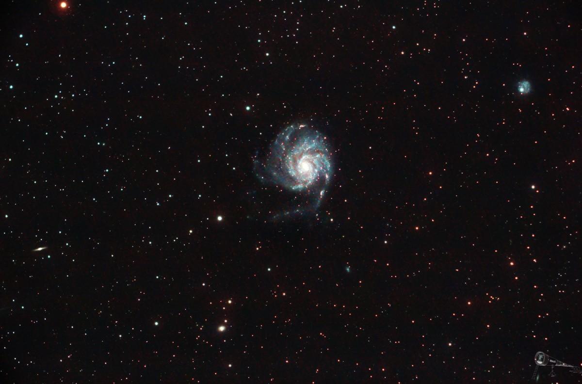 M101 - Die Feuerradgalaxie