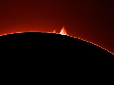 29. Februar 2012 - Protuberanzen