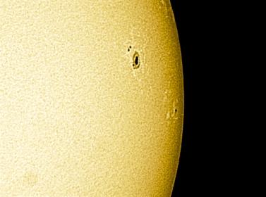 24. Februar 2012 - Sonne Weißlicht