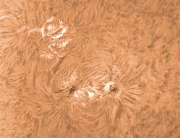 18. März 2012 h-alpha AR 1434