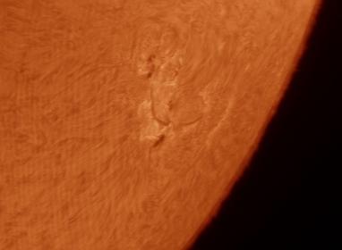 15. Mai 2013: Sonne AR1748 in h-alpha