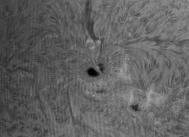 5. Mai 2013: Sonne AR 1734