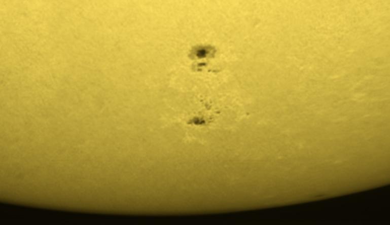 31. Juli 2012 Sonnenfleck AR1535