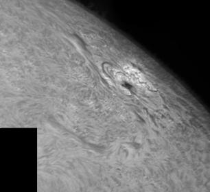 8. September 2012 AR1562 in h-alpha