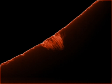8. September 2012: Protuberanzen