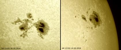19./26.Oktober 2014: Weißlicht: AR12192