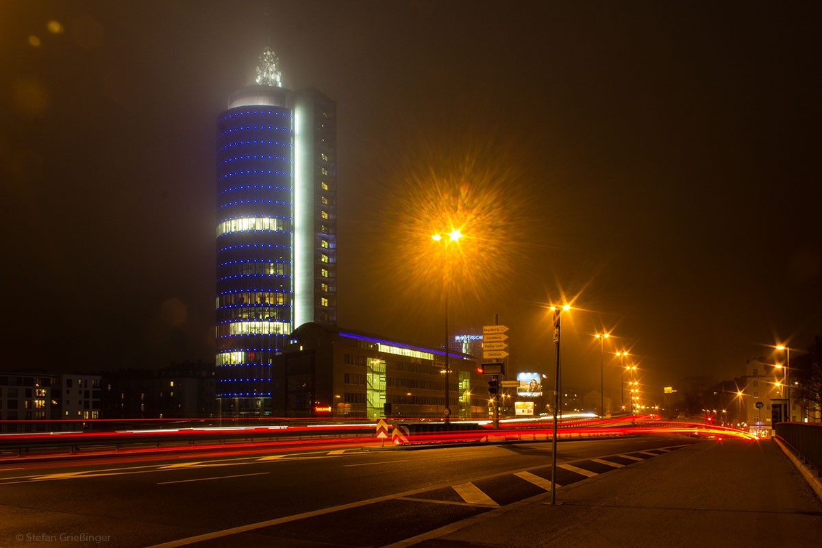 Citytower@ Night