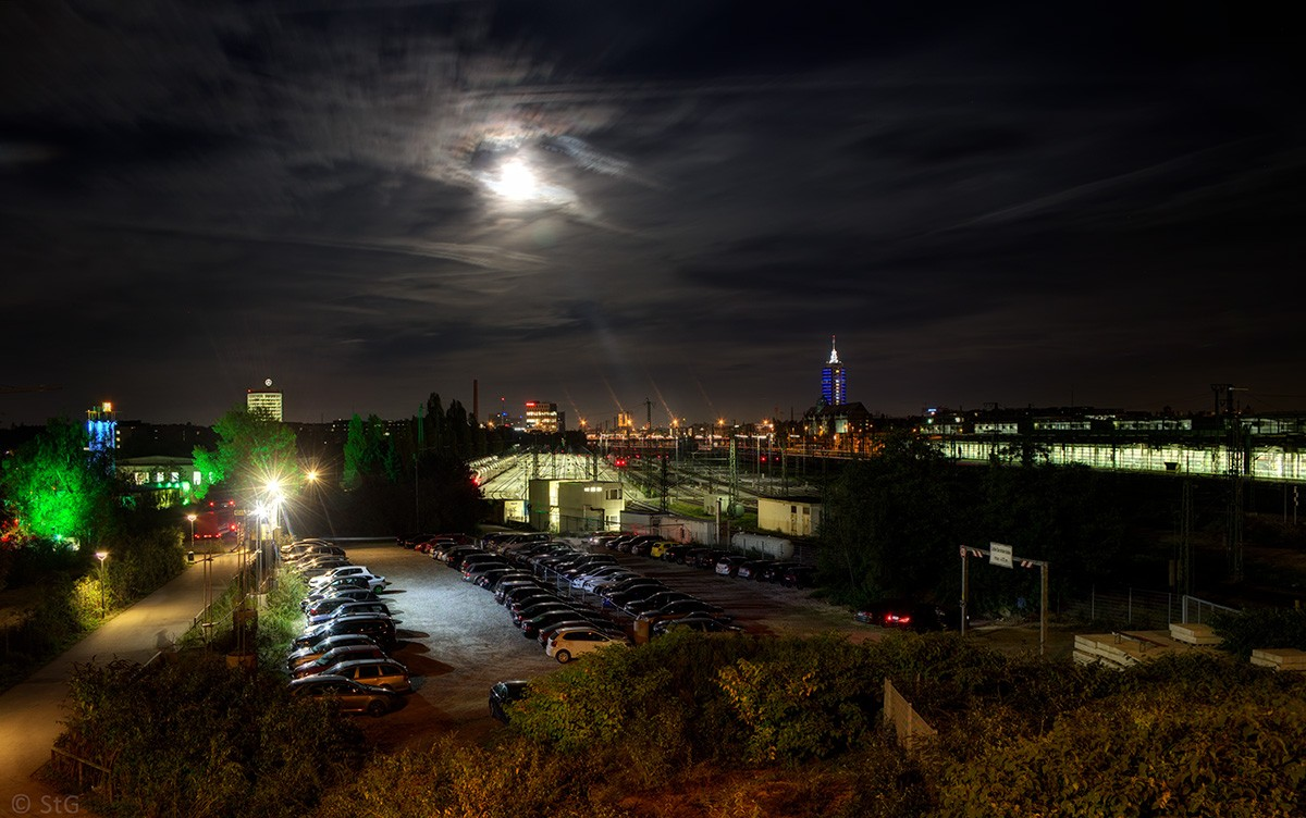 Moonlight over Munich