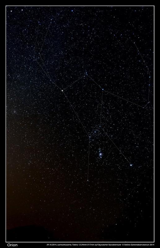 Orion im Nebel