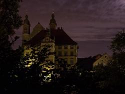 Mondnacht überm Schloßberg