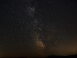 Sommermilchstraße in Richtung Sagittarius