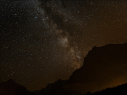Milchstraße im Gebirge: Sagittarius - Schütze